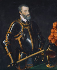 Emperor Charles V (1500-1558) in Armor (lluisribesmateu1969) Tags: 16thcentury portrait titian notonview kunsthistorischesmuseumwien vienna