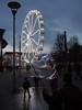 Big bubbles, big wheel (wi-fli) Tags: bristol england unitedkingdom bubbles soap bigwheel ferris milleniumsquare harbourside urban street christmas