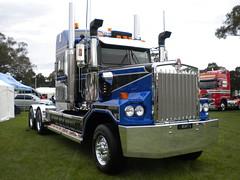 HHA Kenworth C501 (KW BOY) Tags: show tractor truck prime big transport australian australia semi lorry rig hauling express trailer custom heavy conventional castlemaine mover trucking brute kw hha kenworth klos haulage 2011 c501