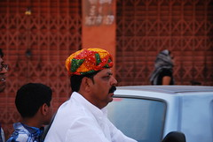 Rajasthani Hat (Let Ideas Compete) Tags: life india man cityscape indian jaipur rajasthan indianculture incredibleindia