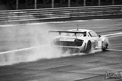 The Aero Effect (RC Squadra Corse) Tags: auto bw italy white black wet water phoenix car rain speed photography photo blackwhite nikon wake italia foto action performance fast automotive racing trail audi panning pioggia ultra bianco nero biancoenero motorsport racingcar velocit autodromo monza r8 autodrome lms spry veloce azione hirundo d90 bagnato andreapiccini audisportteamphoenix riccardocarbone rcsquadracorse hirundophotography wwwhirundophotographycom audir8lmsultra