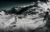Glacier du Géant (Paul M. Robinson) Tags: france mountains alps ice clouds french shadows glacier alpine montblanc merdeglace seaofice glacierdugéant