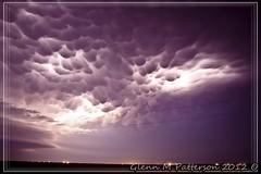 Saturday Night Lights  05 (gmp1993) Tags: sky storm oklahoma weather clouds pretty glenn patterson thunderstorm lightning thunder mammatus gmp1993