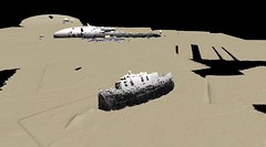 Point cloud from survey data showing remains of the MV Mara (Wessex Archaeology) Tags: archaeology scotland marine scottish maritime data archaeological survey scapaflow geophysics point multibeam cloud 83680