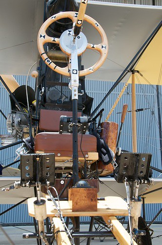 Cockpit of Curtiss Pusher Replica (NX44VY)