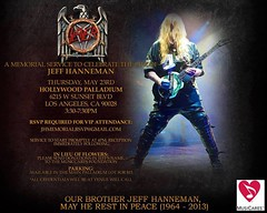 05/23/13 Jeff Hanneman Public Memorial @ Hollywood Paladium, Los Angeles, CA (NYCDreamin) Tags: slayer losangelesca memorialservice jeffhanneman hollywoodpaladium 052313