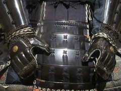 Samurai Armor (shaire productions) Tags: sf sanfrancisco california art japan metal asian japanese design photo artwork asia image metallic crafts arts picture culture pic photograph armor warrior samurai oriental ethnic armour cultural imagery