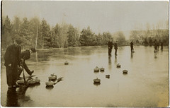 Pitilie curling pond, late 19th cent (P&KC Archive) Tags: building tourism fashion sport architecture scotland 19thcentury perthshire scene recreation roads royalty aberfeldy spectacle perthandkinross