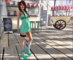 1479.1 (Martyna Asalia) Tags: capri retro mocha marketplace blowup chandelle mstyle clawtooth