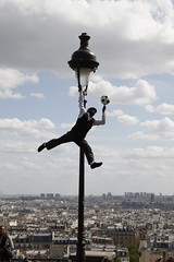 View from Sacr-Coeur (bobharron) Tags: paris montmartre streetperformer