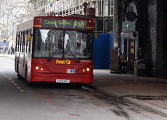 First London DMC42515 LK03NKH Transbus Dart Caetano Nimbus (chrisbell50000) Tags: favorite bus london tower nimbus hill first deck single favourite dart caetano decker rv1 transbus lk03nkh dmc42515 chrisbellphotocom