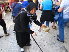 May 12, 2013 (the brilliant magpie) Tags: old city trip travel vacation italy woman vatican rome roma italia beggar begging citta