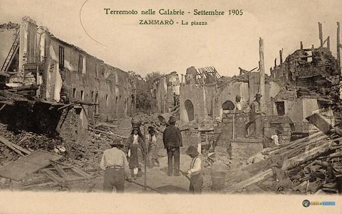 Terremoto delle Calabrie - Settembre 1905 - Zammaro' La Piazza_L