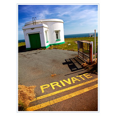 private (khrawlings) Tags: lighthouse wales private coast dale pembrokeshire doubleyellowlines 2013 stanneshead khrawlings