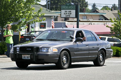 Vehicle Procession & Public Memorial of WSP Trooper Sean O'Connell (andrewkim101) Tags: county ford washington state police victoria wa crown patrol everett interceptor snohomish wsp