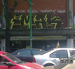 IMAKS (BWS + CK) / FIKOR / REES / 10FOOT / OFIER (TheWasHere...) Tags: mexico graffiti im ck rees bws imak 10foot fikor imaks