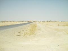 Road on COB Speicher (ibgrunt) Tags: iraq cob speicher tikrit