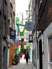 1482 LondoEntrance to Neal's Yard, London (teresue) Tags: uk greatbritain england london unitedkingdom nealsyard 2013