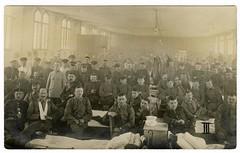(Kaopai) Tags: old bw war uniform wwi krieg historic soldiers sw 1wk guerre worldwar soldaten weltkrieg premireguerremondiale wk1 guerremondiale grandeguerre feldpost lazarett