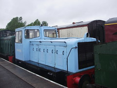 Brownhills West (mostlybytrain) Tags: train industrial diesel steam locomotive preservation dampf
