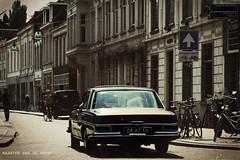 Dutch Havana (Pjotre7 (www.maartenvandevoort.nl)) Tags: auto street summer sun holland netherlands car vintage mercedes benz havana cuba nederland voiture zon machina pjotre7