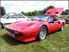 Ferrari 308 (Alan B Thompson) Tags: car suffolk picasa olympus 2013 helmingham sp590uz