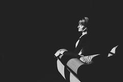 (La T / Tiziana Nanni) Tags: portrait bw woman girl face digital portraits donna shadows ombra indoor ombre ritratti ritratto luce biancoenero ragazza lightshadows womenportraits d700 tizianananni