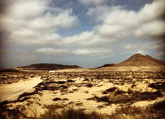 Once Upon a time in Fuerteventura (Dr.Phibes) Tags: clouds desert fuerteventura onceuponatime nubes western desierto leone sergioleone elcotillo fuerteventura2013