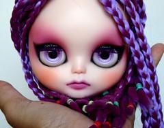 Madame Gloxínea - Custom Blythe TBL para Vagner Carvalheiro