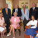 """The Barkers hosted a luncheon for former Clemson presidents and their spouses. Left-right are: Jim and Marcia Barker, R.C. and Louise Edwards, Walter Cox, Phil and Celeste Prince. • <a style=""""font-size:0.8em;"""" href=""""http://www.flickr.com/photos/49650603@N07/9786621111/"""" target=""""_blank"""">View on Flickr</a>"""