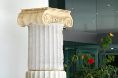 Ionic Column (RobW_) Tags: ancient september greece tuesday olympia column ilia ionic peloponnese 2013 sep2013 17sep2013