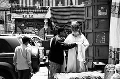 (Amani Alhjaji) Tags: road street old people photography mosque yemen sanaa       d5100