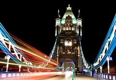 Tower Bridge (Amidared) Tags: uk nightphotography bridge thames riverthames londonbridges londonnight londonuk thamesbridges