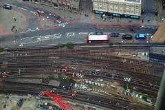 view from The Shard (aka Jon Spence) Tags: london station londonbridge rails shard tooleystreet londonist dukestreethill workerants