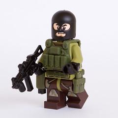 Special Forces Commando (Paolo Cisilotto) Tags: modern lego military custom warfare cisilotto