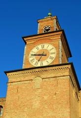Clock Tower In Palazzo Pio [Carpi - 16 April 2014] (Doc. Ing.) Tags: italy clock clocktower mo modena carpi emiliaromagna 2014 palazzopio