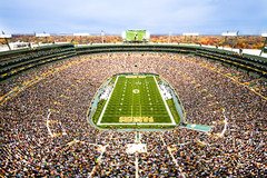 Lambeau Field on Gameday (VisitGreenBay) Tags: wisconsin football nfl packers greenbay lambeau greenbaypackers cheesehead