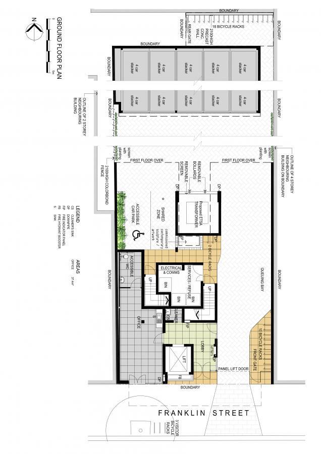Property Floorplan Of 124 Franklin Street Adelaide Sa