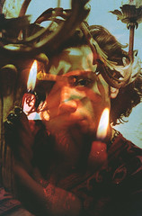 Midnight (Nicola) by Ransom Ashley (ransomashley) Tags: venice portrait italy abstract art film lamp youth analog 35mm vintage fire photography exposure candle nicola ashley memories fine documentary double retro nostalgia portraiture midnight cigarettes virgins cinematic narrative ransom romagnoli