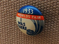 "Art Deco Pin Button .... 1933 Chicago World's Fair ""I Was There"" (Greg's Southern Ontario (catching Up Slowly)) Tags: chicago artdeco memorabilia worldsfair 1933 pinbackbutton centuryofprogress pinbutton 1933chicagoworldsfair chicagomemorabilia geraghtycompany 1933chicagoworldsfaircenturyofprogress"