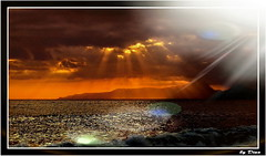 49-La lumire (gio.dino3) Tags: eau nuvole lumire ciel nuages acqua riflessi reflets celo coucherdesoleil