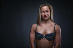 agnes (n2cus) Tags: female model underwear sensual greeneyes fitness femalemuscles