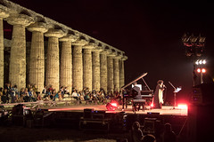 magica notte - magic night (58lilu58) Tags: notte night cultura culture summer estate concerto concert archeologia storia history archeology templi temples muwsica music atmosfera unica magicmoment