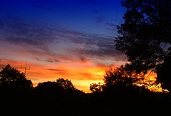 Setting sun over Fenway (brooksbos) Tags: brooksbos boston brooks fenway evening geotagged landscape massachusetts newengland olympusxz1 summer sky xz1 z