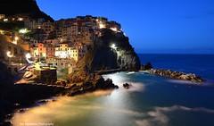Manarola Cinque Terre Italy (Rex Montalban Photography) Tags: rexmontalbanphotography manarola italy aperture longexposure