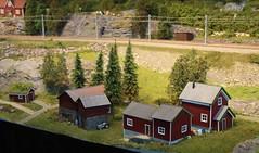Berekvam H0  (13) (Rinus H0) Tags: modelspoorexpo expo 2016 leuven belgi belgium belgique louvain mstdemaaslijn berekvam h0 187 schaal gauge scale norway norwegian modeltreinen modelrailway modelleisenbahn modelspoor modeltrains trains cars trucks wagon nature scenery mountain
