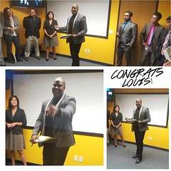 Congratulations Louis! Big things to come from you.  #olninc #advancement #growth #movingup #carson (oln_inc) Tags: oln inc carson ca los angeles