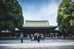 'Meiji Shrine, Harajuku' (SkyHiRei) Tags: tokyo japan harajuku d3100