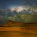 Milky Way setting over the Pinnacles, Western Australia