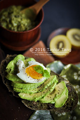 Matcha Chestnut Bread (TailorTang) Tags: matcha greentea chestnut maron food foodphotography stilllife 50mm 5014 green japanese avocado softboiledegg egg basil pepper kiwi